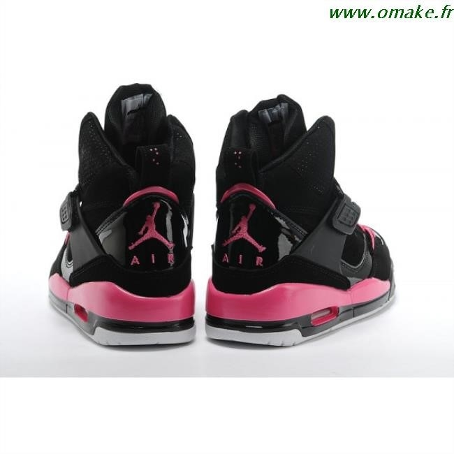 mieux aimé 25bb1 8900e basket jordan noir et rose